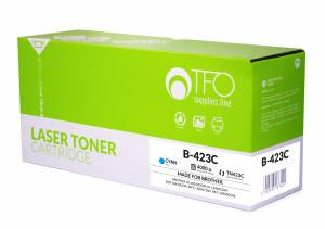 Toner TFO Brother B-423C (TN-423C) cyjan 4K