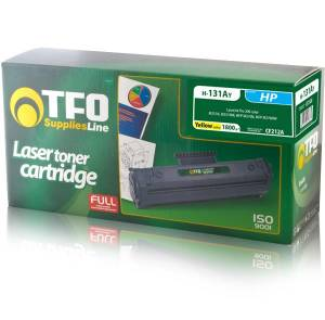 Toner TFO HP H-131AY (CF212A) yellow 1.8K