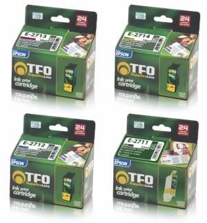 Zestaw TFO 4 tusze Epson CMYK T2711 - T2714
