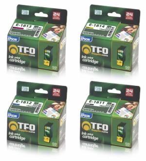 Zestaw TFO 4 tusze Epson CMYK T1811 - T1814
