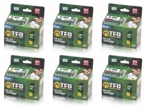 Zestaw TFO 6x tusz Epson T0481 T0486