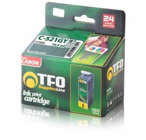 Tusz Canon TFO C-521GY (CLI521GY) gray 10.5ml