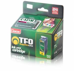 Tusz Canon TFO C-521M (CLI521M) magenta 10.5ml