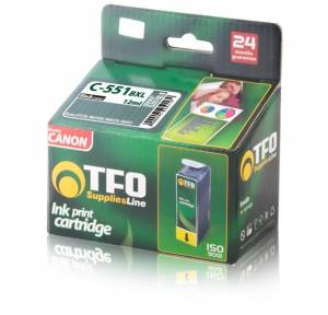 Tusz Canon TFO C-551BXL (CLI551XL B) black 12ml