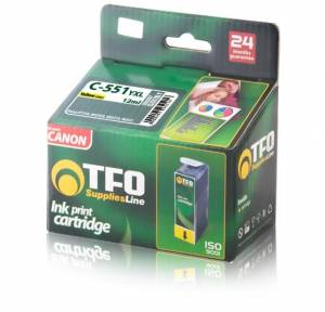 Tusz Canon TFO C-551YXL (CLI551XL Y) yellow 12ml