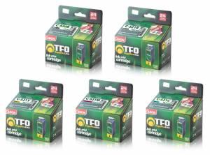 Zestaw TFO Canon 520/521 - CLI521 CMYK i PGI520Bk