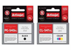Zestaw Activejet do Canon PG-540 CL-541 - 2 tusze XL