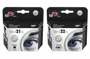 Zestaw TB Print HP 21 / HP 22 - czarny i kolor XL