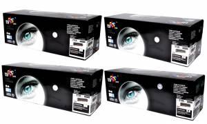 Zestaw TB Print - HP 131A / 131X - 4 tonery CMYK nowy wałek OPC