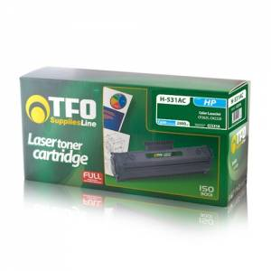 Toner TFO HP 304A H-531AC (CC531A, Cy) 2.8K, chip