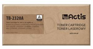 Toner ACTIS TB-2320A Brother TN-2320 Supreme 2.6k czarny