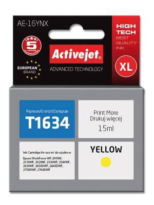 Tusz Activejet AE-16YNX zamiennik Epson 16XL T1634 15 ml żółty