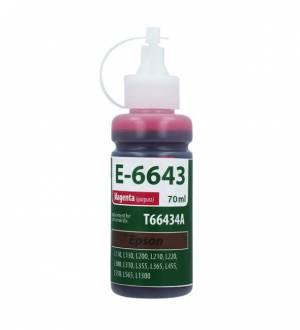 Tusz TFO do Epson magenta E-6643 (T6643, Ma) 70ml