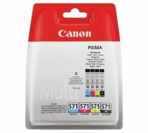 Oryginalny zestaw Canon 4x 7ml CLI-571 CMYK 0386C005
