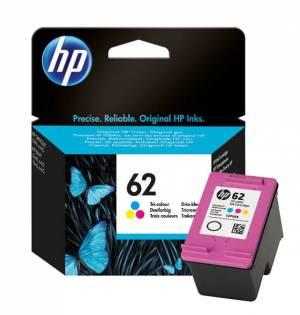 Tusz HP 62 kolorowy oryginał 4.5ml C2P06AE