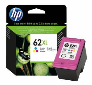 Tusz HP 62XL kolorowy oryginał C2P07AE