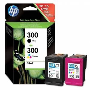 Tusz HP 300 dwupak oryginalny CN637EE czarny + kolor