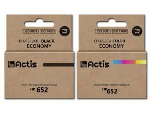 Zestaw Actis 2x tusz do HP 652 czarny + kolor