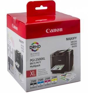 Tusz Canon Zestaw PGI-2500XL CMYK MULTI 9254B004