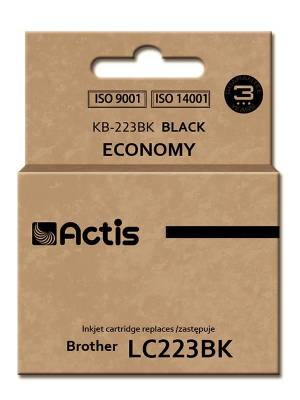 Tusz ACTIS KB-223Bk Brother LC223BK 16 ml