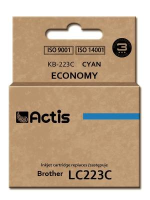 Tusz ACTIS KB-223C Brother LC223C 10 ml niebieski