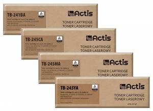 Zestaw Actis 4 tonery zamienne Brother TN-241 / TN-245 CMYK