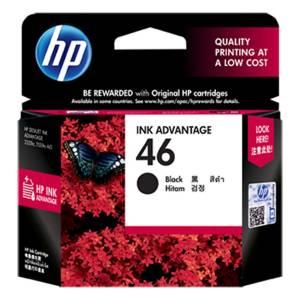 Tusz HP 46 CZ637AE Black oryginał