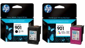 Zestaw HP 901 - 2 tusze czarny + kolor