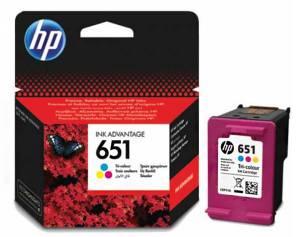 Tusz HP 651 oryginał C2P11AE kolorowy