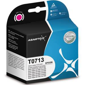 Tusz Asarto do Epson T0713 magenta 13ml 290str