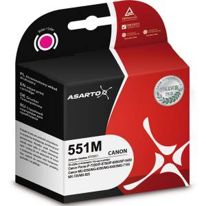 Tusz Asarto do Canon CLI551 Magenta 12ml