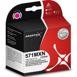 Tusz Asarto do Canon CLI571 Magenta 11.8ml 650str