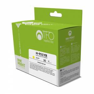 Tusz TFO do HP 951 H-951YR (CN048A) 30ml żółty