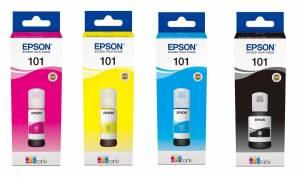 Zestaw Epson EcoTank 101 - 4 kolory CMYK