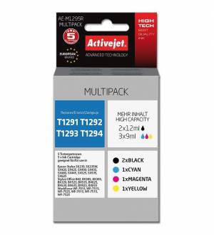 Multipack Activejet do Epson T1291-T1294 - 4 tusze CMYK