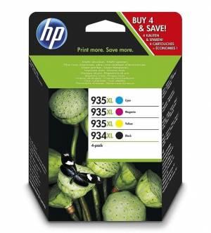 Multipak HP 934XL 935XL 4 tusze CMYK X4E14AE