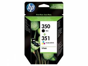 Multipak HP 350 + 351 czarny i kolor 2 tusze SD412EE