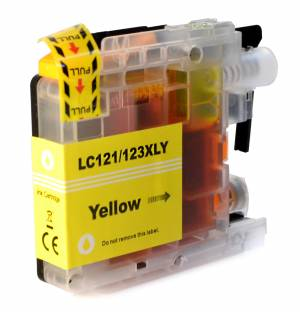 Tusz do Brother LC 123 zamiennik whitebox XL yellow