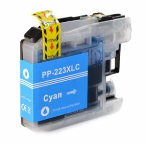 Tusz do Brother LC 223 zamiennik whitebox XL cyjan