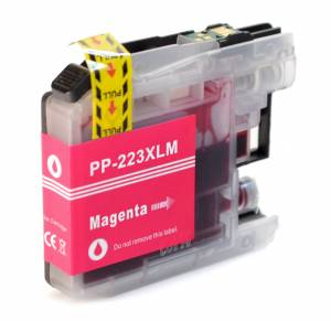 Tusz do Brother LC 223 zamiennik whitebox XL magenta