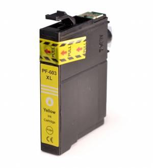 Tusz do EPSON nowy zamiennik T603XLY Yellow