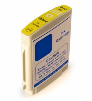 Tusz do HP 940XL nowy zamiennik C4909AE Yellow