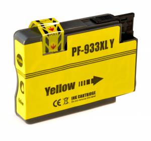 Tusz do HP 933XL nowy zamiennik CN056AE Yellow