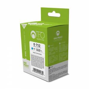 Tusz TFO E-712 Epson T0712 13.5 ml niebieski