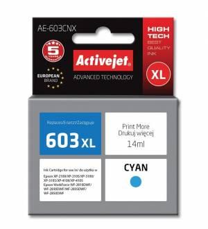 Tusz Activejet AE-603CNX Epson 603XL Supreme 14 ml niebieski