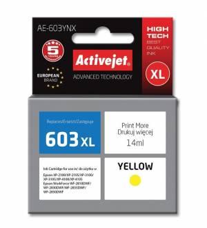 Tusz Activejet AE-603YN Epson 603XL Supreme 14 ml żółty