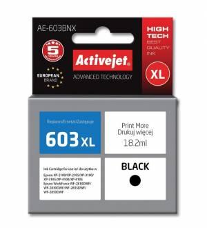 Tusz Activejet AE-603BNX Epson 603XL Supreme 18,2 ml czarny
