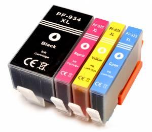 Zestaw 4x nowy tusz do HP 934XL 935XL CMYK