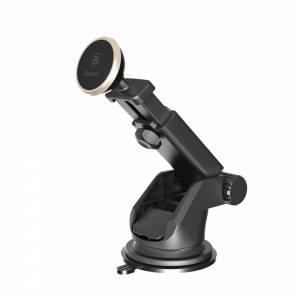 Baseus uchwyt samochodowy Telescopic magnetyczny złoty