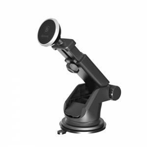 Baseus uchwyt samochodowy Telescopic magnetyczny srebrny